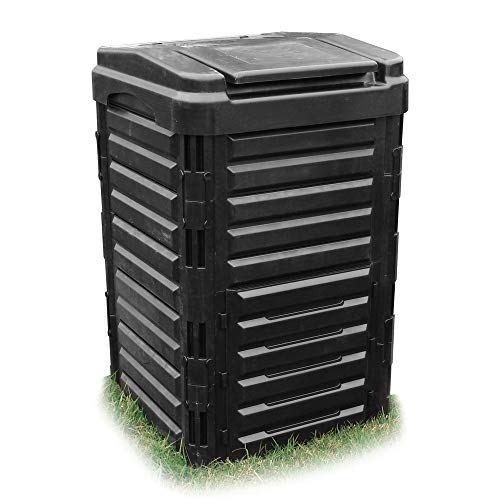 WORTH GARDEN 堆肥コンポスター 家庭菜園 有機肥料 落ち葉処理 (250L大容量)