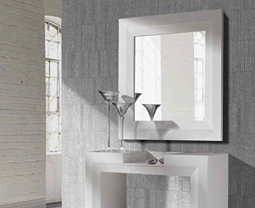 CH Design - Espejos Modernos - Twin Blanco (105x105)