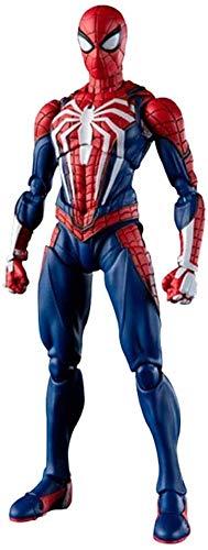 Leileixiao La Figura Vengadores - Spider-Man Atcion Figura Figura Colección de PS4 - Equipado con Armas Ricos y Manos Intercambiables...