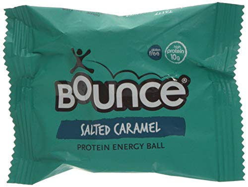 Bounce Salted Caramel Protein Energy Ball, 40 g, Pack of 12