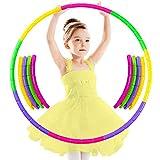 Hula Hoop Fitness niños, Aro de Fitness, Aro de Fitness Desmontable, Hula Hoop Fitness Desmontable, Hula Hoop para...