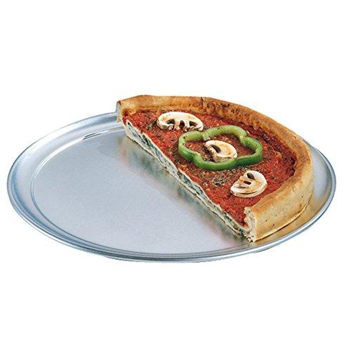 García de Pou 147.90 Piatti Pizza, Diametro 35 cm, Set da 75, Argento
