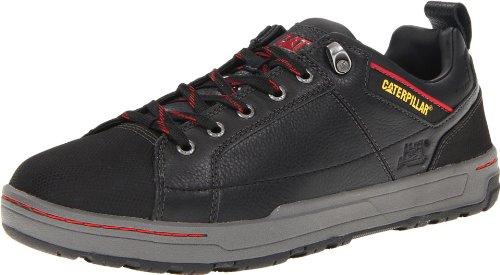 Caterpillar Men's Brode Steel Toe Work Shoe,Black Leather,12 M US
