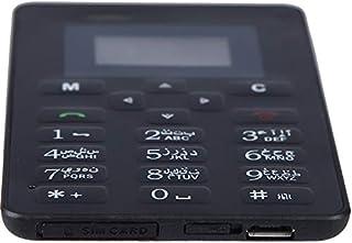 AIEK M5 Mini Pocket GSM Card Mobile Phone - Black
