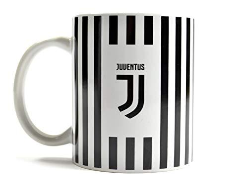 Offizielle JUVENTUS neue Kamm Schwarz-Weiß-Streifen Keramikbecher