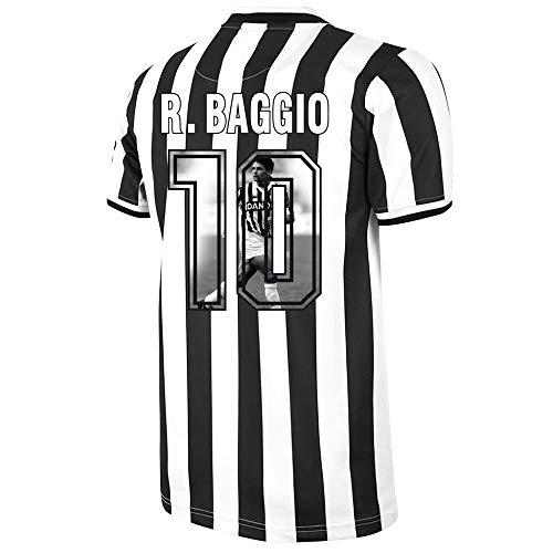 Copa Juventus Home R. Baggio 10 Retro Trikot 1994-1995 (Gallery Style Beflockung) - XXL