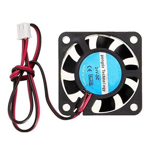WY-YAN Il monitoraggio della Potenza Hot End estrusore 24V DC 40 Millimetri di Raffreddamento della Stampante Fan for RepRap 3D