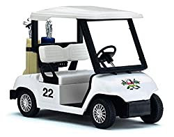 Toy Golf Cart for Your Desk
