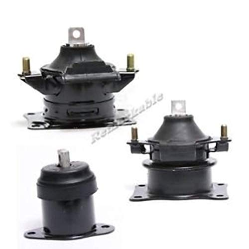 RP Remarkable Power, G278 Fit For 2003-2007 Accord 2.4L/ 2004-2008 Acura TSX 2.4L Engine Motor Mount Set Front Rear Right Auto Trans A4526 A4516 A4517