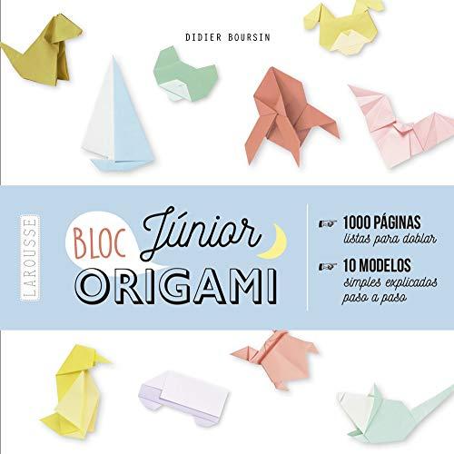 Origami Bloc Júnior (Larousse - Libros Ilustrados/ Prácticos - Ocio Y Naturaleza - Ocio)