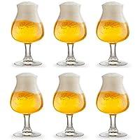 CONTENU DE L'EMBALLAGE : Libbey fournit le verre à bière Iseo en lot de 6 verres identiques de haute qualité. Les verres sont emballés dans une boîte en carton entièrement recyclable. L'emballage contient également une notice avec des informations su...