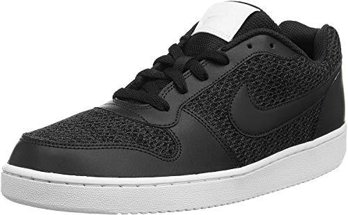 Nike Nike Ebernon Low Prem Zapatos de Baloncesto Hombre, Gris (Dark Grey/Black/White 001), 42.5 EU