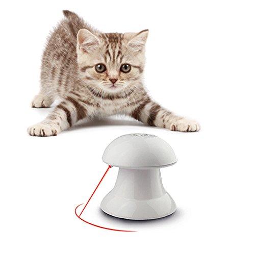 Automatisches rotierender Lichtspielzeug für Katzen und Hunde von Lenezaro