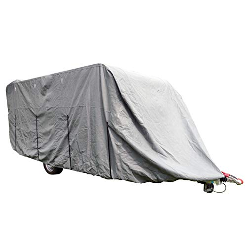 Carpoint 1723434 Abdeckplane für Wohnwagen Ultimate Protection XXL 710x250x220cm