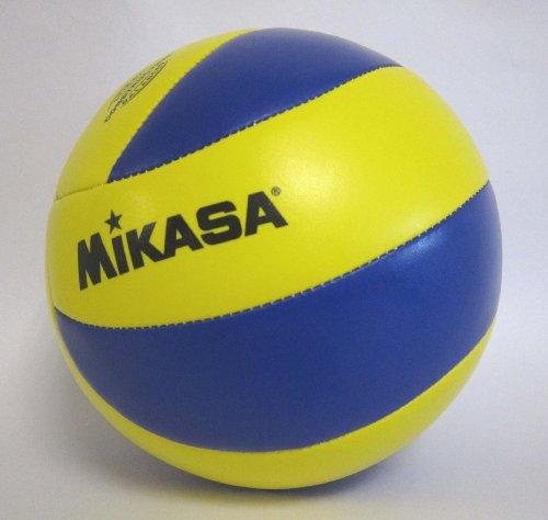 『ミカサ(MIKASA) バレーボール 4号 レクリエーション レジャー用 (中学生・婦人用) イエロー/ブルー 推奨内圧0.25(kgf/㎠) MVA4000』の3枚目の画像