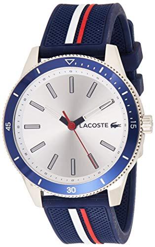 Lacoste Herren Analog Quarz Armbanduhr mit Silikonarmband 2011006