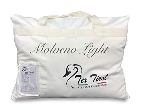 Piumino Tex Tirol  MOLVENO Light 80 Piumino Oca / 20 PIUMETTE Oca Leggero Estivo Matrimoniale