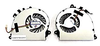DBParts New CPU GPU Cooling Fan for MSI GS70 GS72 MS-1771 MS-1773 GTX 765M P/N  PAAD06015SL N184 N229 N346 N269 N197 A Pair