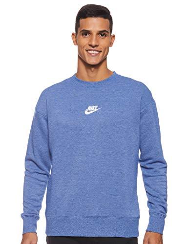 Nike 928427-438 Haut à manches longues Homme - Bleu (Indigo Force/ Htr/ Voile) - M