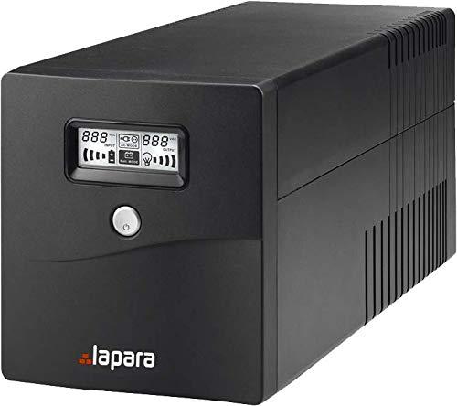 Lapara LA-VST-2000LCD Sistema de Alimentación Ininterrumpida SAI 2000VA 1200W LCD Interactivo