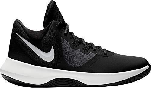 Nike Air Precision - Zapatillas de Baloncesto para Hombre con Cordones en la Parte Superior, Negro/Blanco, 5.5 M US