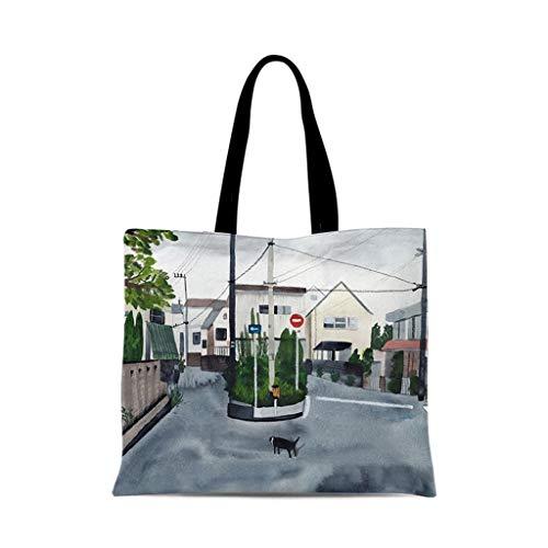 XXT Umweltschutz-Beutel-Retro- Nette eine Schulter Tasche Stoff Umweltschutz Tasche (Color : G, Size : 30 * 35cm)