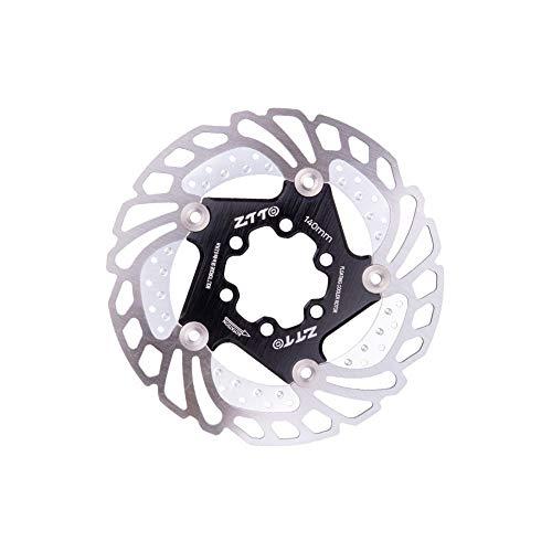 MiOYOOW Disco de freno para bicicleta, disco de freno flotante con 6 tornillos, 140 mm, 160 mm, 180 mm, 203 mm, para bicicleta de carretera y montaña