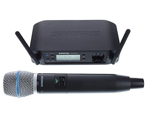 Shure - Glxd24e b87a microfono inalambrico digital de mano beta 87a
