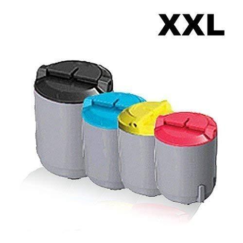 4x Kompatible Tonerkartuschen für Samsung CLP300 CLP300N CLP300NG CLX2160 CLX2160N CLX3160FN CLX3160N CLPK300A ELS CLPC300A ELS CLPM300A ELS CLPY300A ELS Sparset