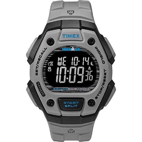 Timex Ironman Classic 30 reloj de resina gris de 41 mm TW5M24300