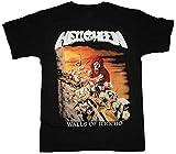 Photo de HEFU Helloween Walls of Jericho'85 Gamma Iron Saviour Rage New Black T-Shirt