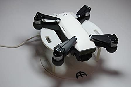 BuddyGoody - DJI Spark Drone Voice Internet WiFi Remote Power ON & OFF Launch/Land Base - Alexa Amazon Echo/Google Home/IFTTT
