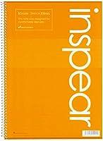 マルマン B5 リングノート インスピア オレンジ N277-09 【× 2 冊 】