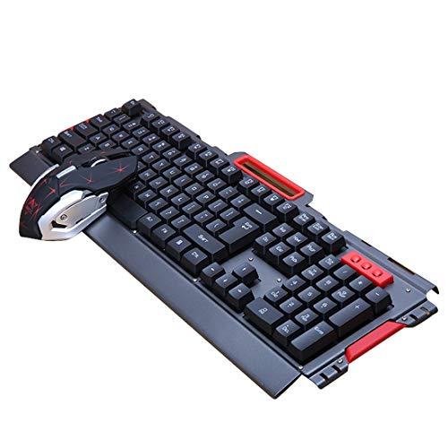 Hemotrade Waterdichte draadloze toetsenbord en muis Combo met USB-poort