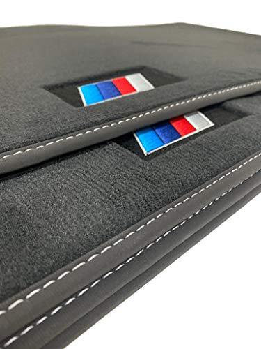 Accesorionline Alfombrillas Velour Elegance para BMW Serie 3 Cabrio 1999-2005 - Medidas y Anclajes Originales - Máxima Calidad de moqueta