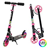 Apollo Scooter LED - Skyracer mit Led Wheels 145mm City