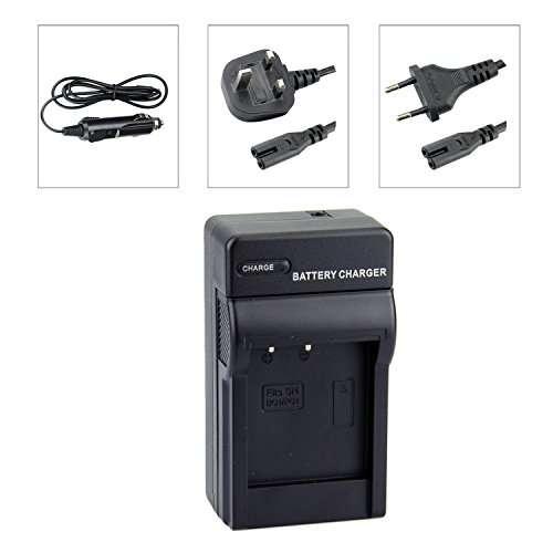 DSTE NP-BG1 NP-FG1 Baterías Cargadores Compatible con Sony Cyber-Shot DSC-H70 DSC-HX5V DSC-HX7V DSC-HX9V DSC-HX10V DSC-HX20V DSC-HX30V DSC-N1 DSC-N2 DSC-T20 DSC-T100 DSC-W30 Camera