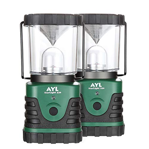 AYL Starlight - Water Resistant - Shock Proof - Battery Powered Ultra Long Lasting Up to 6 Days Straight - 1000 Lumens Ultra Bright LED Lantern - Perfect Camping Lantern for Hiking, Camping (2)