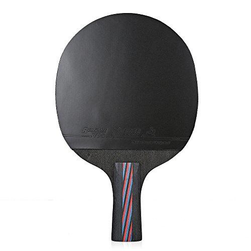 Raqueta de tenis de mesa ligera para bate, paddle ping, paddle Pong, pala de penhold / sacudidas de mano