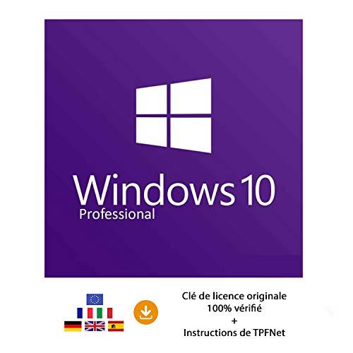 Windows 10 Pro 32 Bits & 64 Bits