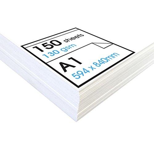 Artway Studio - Zeichenpapier für trockene Zeichen- und Maltechniken - säurefrei - lose Blätter - 130 g/m² - A1 (150 Blatt)