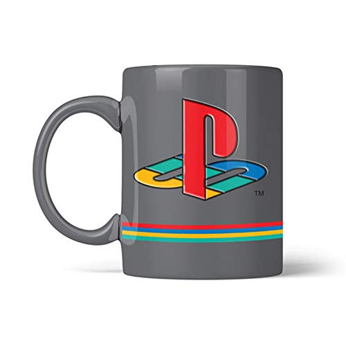 Offical Playstation 25th Anniversary Metal Badge Mug