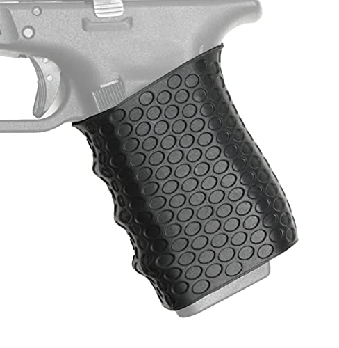 Stekos Rubber Gun Grip – Universal Fit and Easy Installation – Durable and Flexible Rubber Vertical Grip – Professional-Grade Tactical Grip (Jet Black)