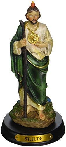 George S. Chen Imports 12,7 cm Saint Jude Sainte Figurine Religieux Décoration Statue