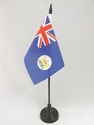 AZ FLAG Bandera de Mesa de Hong Kong Antigua 15x10cm - BANDERINA de DESPACHO HONGKONÉS Antigua 10 x 15 cm