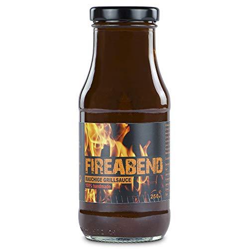 FIREABEND - Rauchige Grill-Sauce 100% handmade (250 ml)