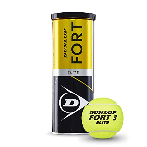 DUNLOP Fort Elite 3TIN Balle de Tennis Adulte...