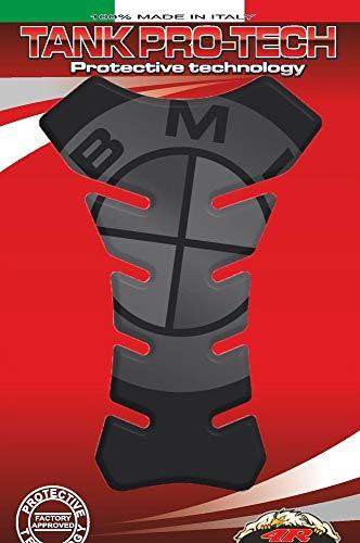 BMW MOTORCYCLE DARK TANK PROTECTOR PAD PROTECK MADE IN ITALY S1000R, S1000XR, S1000RR, F800GS, F800GT, R nineT, R1200S, R1200R, R1200RS, R1200-GS ADVENTURE, R1200GS, K1600GT, K1600GT, and UNIVERSAL