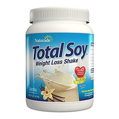 Naturade, Total Soy, Weight Loss Shake, Vanilla, 2 Pack (19.1 oz (540 g)) Applications from