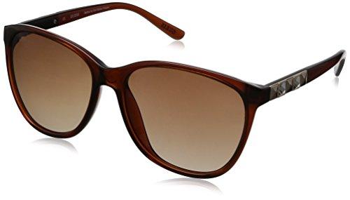 Guess - Gafas de sol Mariposa GU7283, GU7283_E26 Brown & Brown
